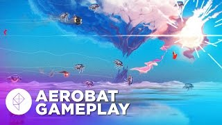 AEROBAT Gameplay Preview: An Absurdly Fast Indie Shmup-Like