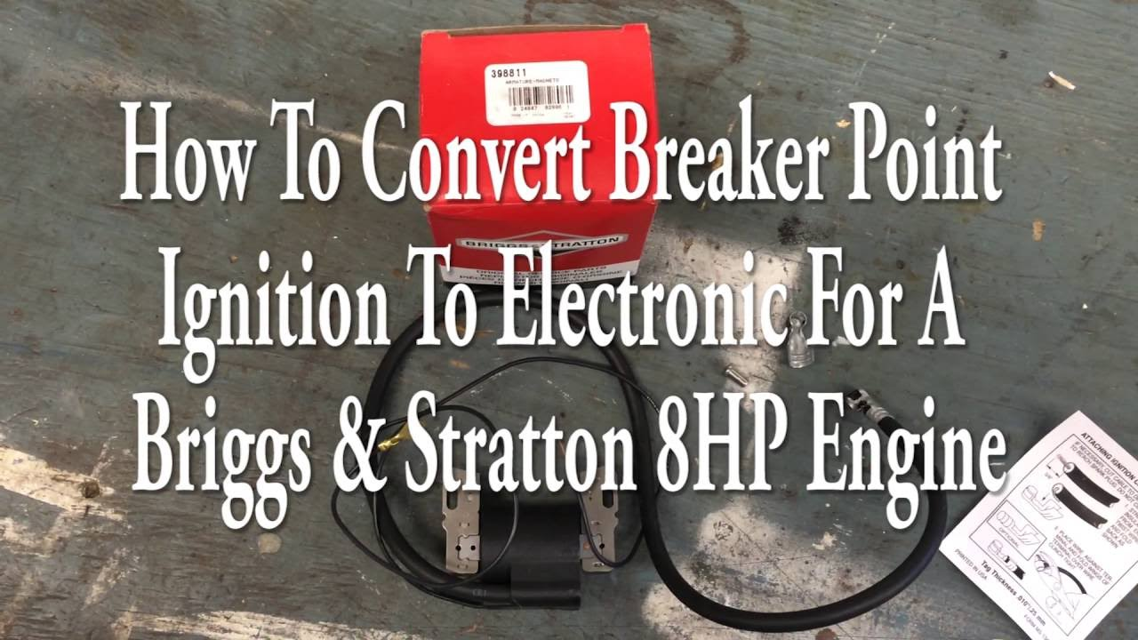 Briggs Points to Electronic Coil Conversion