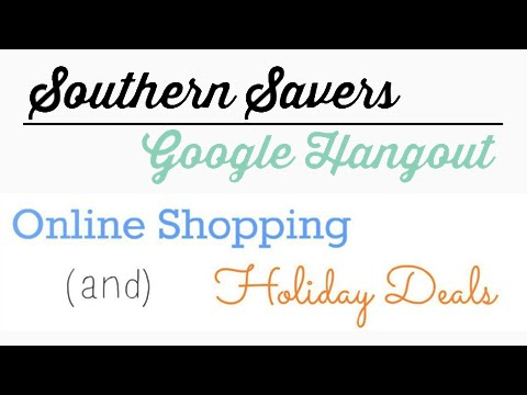 Online Shopping & Holiday Deals