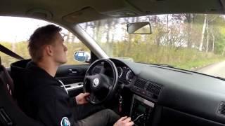 1/4 mile VW Golf GTI