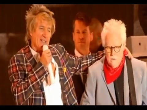 ROD STEWART/JIM CREGAN - I WAS ONLY JOKING - LIVE Hyde Park 2015