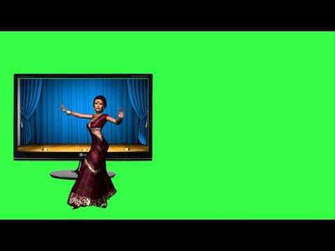 """ФУТАЖ  на Хромакее """"Танец и прыжок"""""""