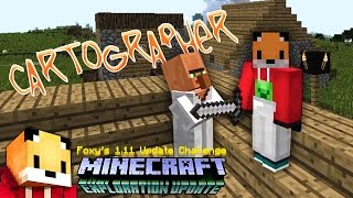 Minecraft 1.11 - HOW TO FIND A CARTOGRAPHER  - Minecraft 1.11 Exploration Update Challange [4]