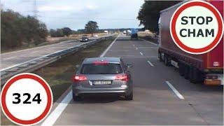 Stop Cham #324 - Niebezpieczne i chamskie sytuacje na drogach