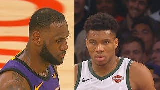 Lakers vs Bucks Crazy Ending In Final Minutes Highlights! 2019 NBA Season