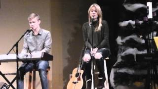 """Duncan and Shannon Boudreau singing """" All I Want"""" by Kodaline"""