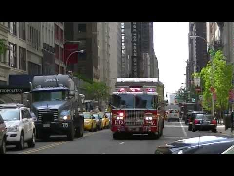 FDNY - Rescue 1 -  Responding To ALL HANDS Box 0978 - 4/30/12