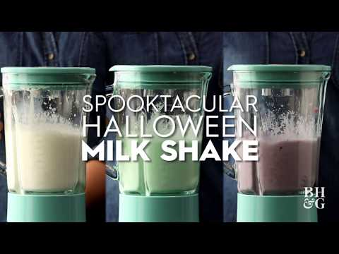 Spooktacular Halloween Milk Shakes | Fun With Food | Better Homes & Gardens