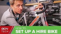 How To Copy Your Road Bike Position | Bike Hire & Rental Set Up Tips