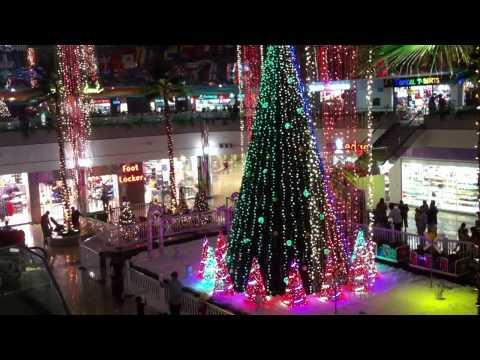 Micronesia Mall Guam 2012 Christmas Light Show - Joy to the World