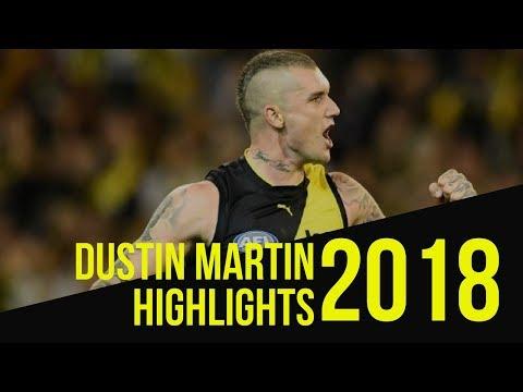 Dustin Martin 2018 Highlights