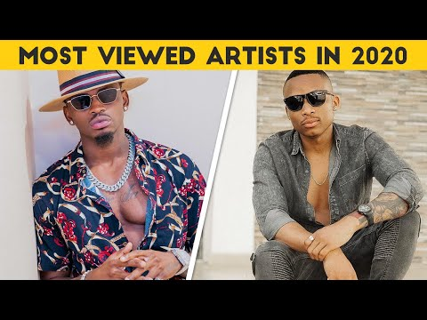 Top 10 Most Viewed Kenyan and Tanzanian Artists In 2020