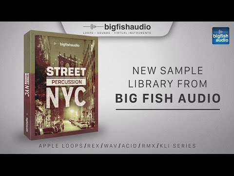 Street Percussion: NYC | Demo Track #1
