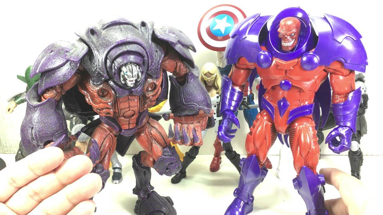 """Marvel Legends 6/"""" Demolition Man Figure Red Skull Onslaught BAF wave"""