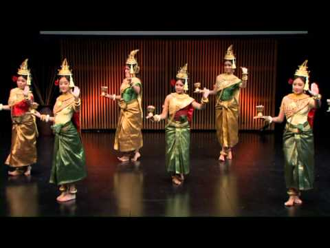 Robam Chun Por (Blessing Dance): Khmer Arts Academy at TEDxSoCal