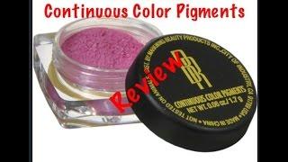 Black Radiance Continuous Color Pigment Honest Review