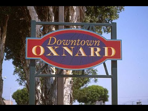 Walking in Downtown Oxnard California