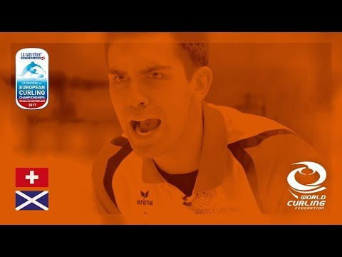 Switzerland v Scotland - Men's Semi-final - Le Gruyère AOP European Curling Championships 2017