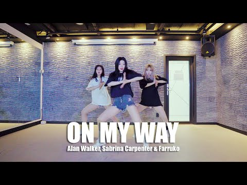 ON MY WAY Koreografi Tari - Alan Walker, Sabrina Carpenter & Farruko / UPVOTE GIRLS