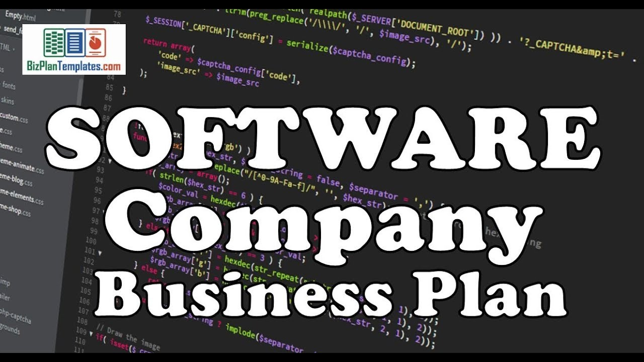 Software Company business plan   Example with Sample Template   YouTube Software Company business plan   Example with Sample Template