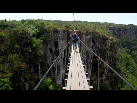 Nyanga. Zimbabwe. Mutarazi Falls. Sky Walk and zip line.