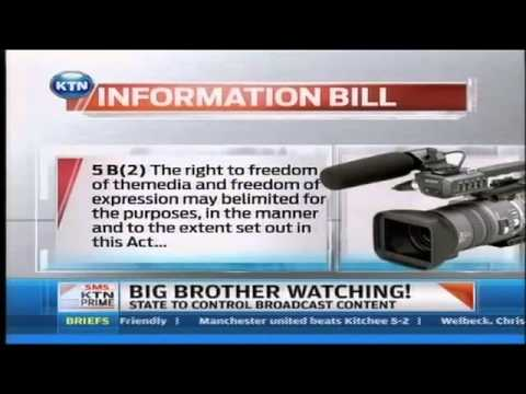 Big Brother is watching   A bill to monitor media published