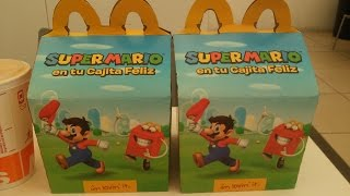 Cajita Feliz McDonald's Super Mario (Noviembre/Diciembre 2016)