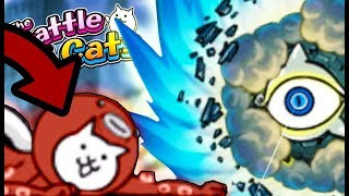 OCTOPUS CAT SOLOING RED SKY AT MORNING?! | The Battle Cats (Part 81) | Update 7.1, Reaction