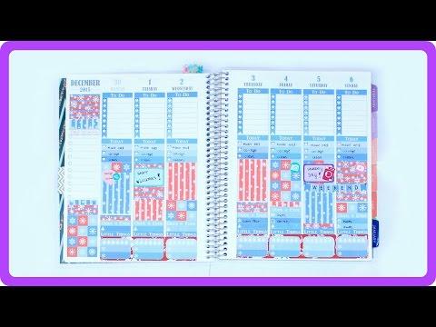 Plan With Me | Tis the Season // Plum Paper Planner
