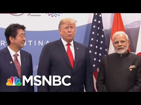 Donald Trump Vs. The World: The President Finds Himself Isolated At G20 | The 11th Hour | MSNBC