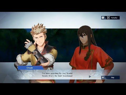 Fire Emblem Warriors - Owain & Navarre Support Conversation