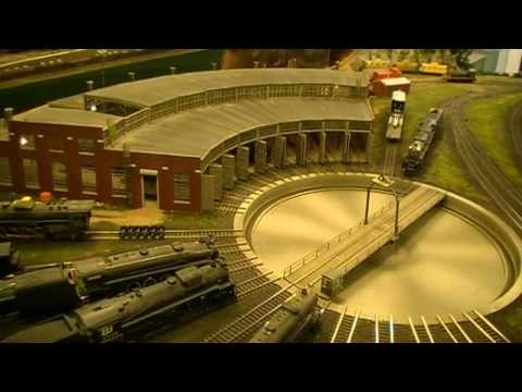 The Blissfield Model Railroad Club's Spectacular HO Scale Layout!