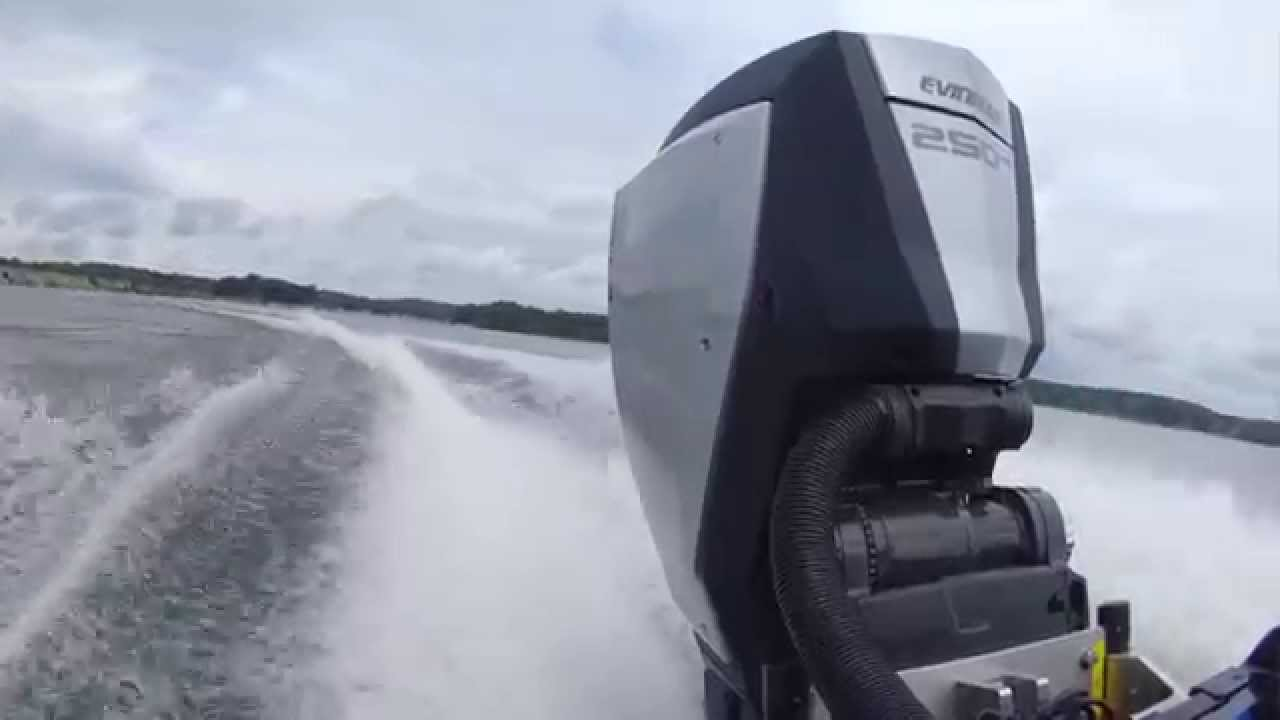 evinrude etec g2 test drive youtube