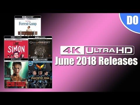 June 2018 4K Ultra HD Blu-ray Releases