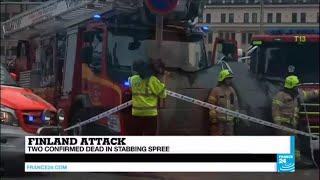 Finland: Two confirmed dead in stabbing spree in Turku