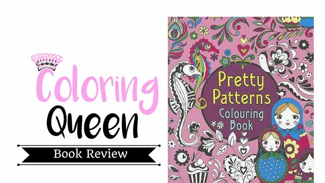 Pretty Patterns Colouring Book : Pretty patterns colouring book adult