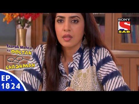 Taarak Mehta Ka Ooltah Chashmah - तारक मेहता - Episode 1824 - 10th December, 2015