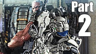 Vanquish Gameplay Walkthrough Part 2- (Act 2, Missions 1-6) [XBOX 360 Gameplay]