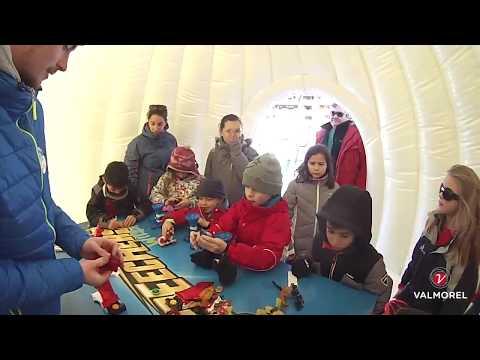 Les Kids à la neige à Valmorel, édition 2018