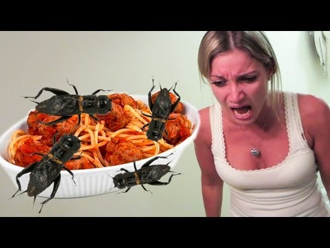 Thumbnail: SPAGHETTI AND MEAT BUGS PRANK