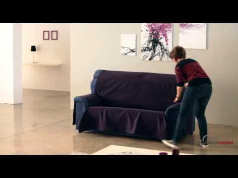 Housse couvre canap youtube - Housse d assise de canape ...