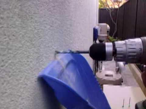 Super slow motion drill filmed on lg secret kf750