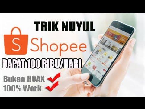 Cara Nuyul Koin Shopee 100 Ribu Setiap Hari Youtube