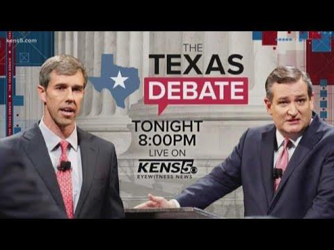 KENS 5 hosting Cruz-O'Rourke debate Tuesday night