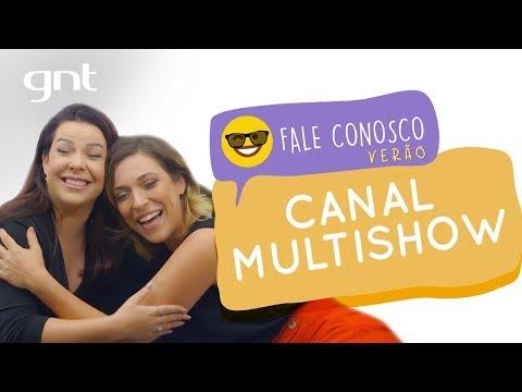 Especial Verão: Multishow com Fernanda Souza   #54   Fale Conosco   Júlia Rabello
