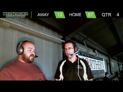 West Virginia Roughriders vs Jersey Flight | Live 7 p.m.