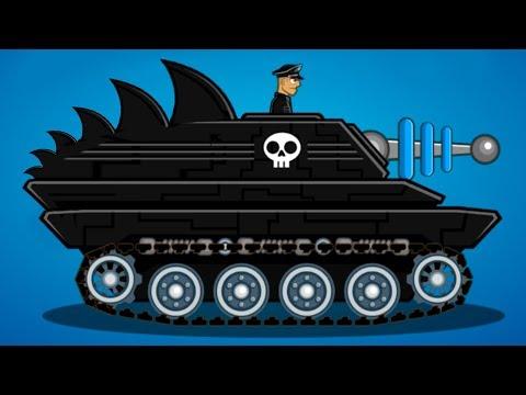 Танк БОСС ЛАЗЕРНАЯ ПАСТЬ и Легион! Удар Грома в Hills of steel #14 Будь боссом. Кид в Хилс оф стил