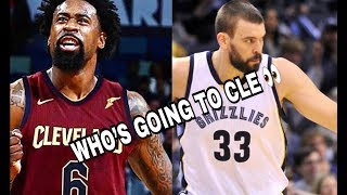 Deandre Jordan or Marc Gasol Heading to Cavs For first round Draft pick?