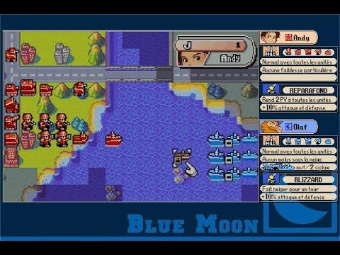 Let's play Advance Wars - Episode 14 : Marine d'Olaf