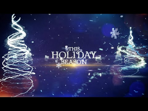 Animated Christmas Card Template - Epic Festive Greeting